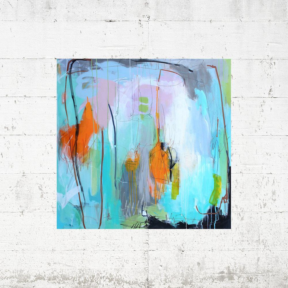 Abstrakt-maleri-ko-mig-her-og-ko-mig-der-100x100-betonvæg-web