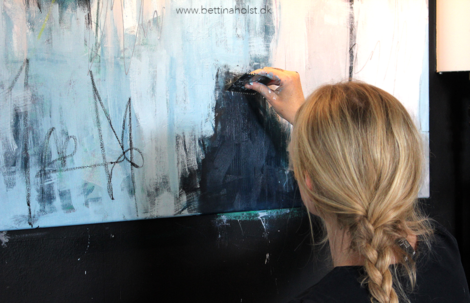 Den dag Maja fik privat male undervisning