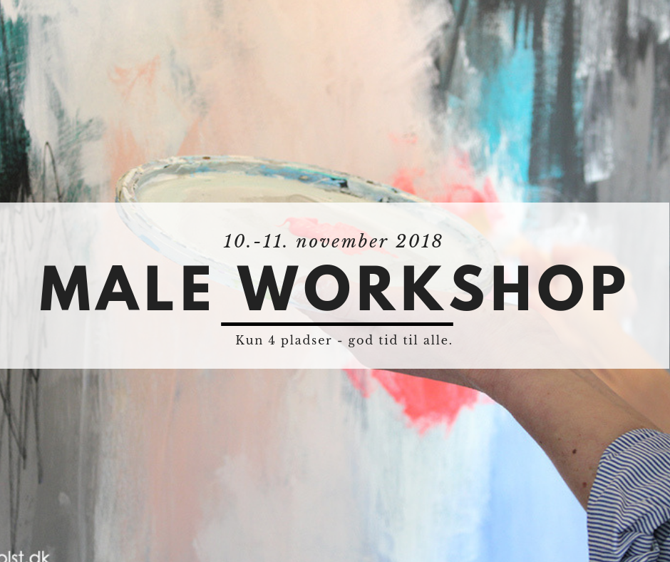 Maleworkshop 10.-11. november 2018