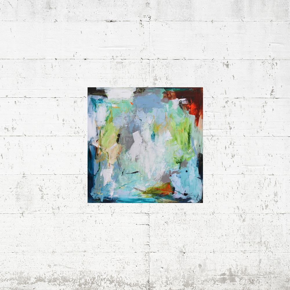 Lille spejl på væggen der - 50x50